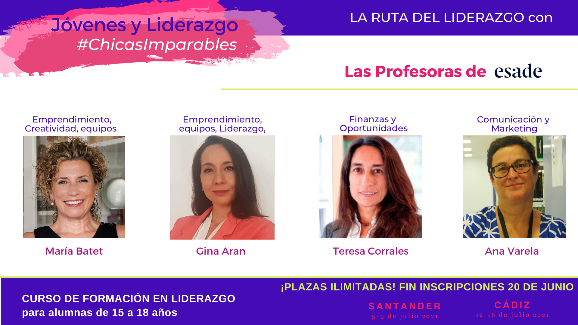 Chicas Imparables 2021